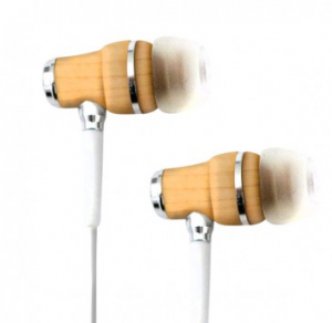 Tribeca wooden earbuds