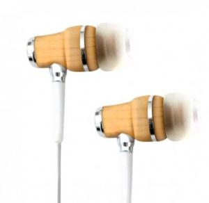 Tribeca wooden earbuds
