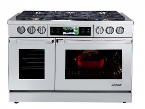Dacor Discovery iQ 48-inch Dual-Fuel Range_Silhouette