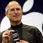 steve jobs photo first iPhone 15 sized
