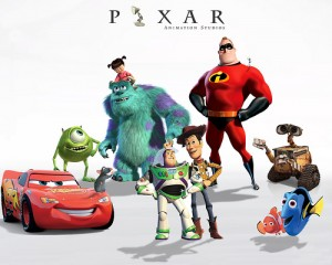 Pixar-Characters