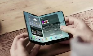 Samsung foldable display