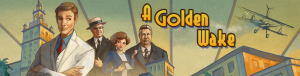 Golden Wake banner