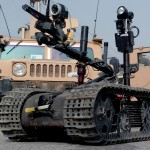 bomb sniffing robot