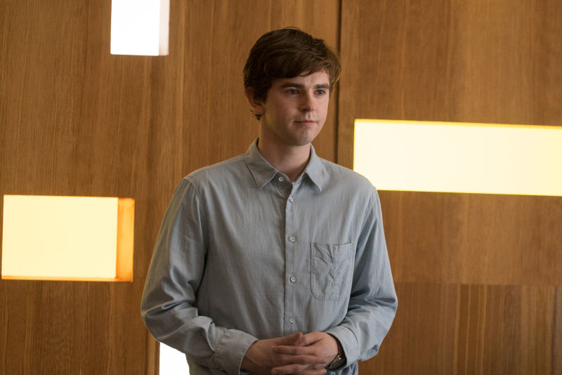 Freddie Highmore in The Good Doctor(Photo: ABC/Liane Hentscher)