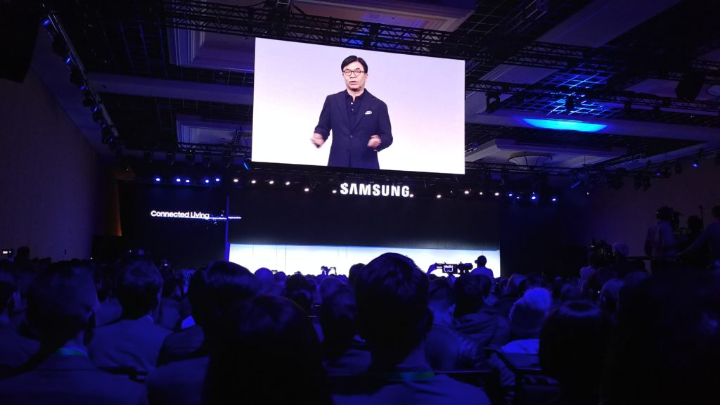 Samsung Press Conference CES 2019