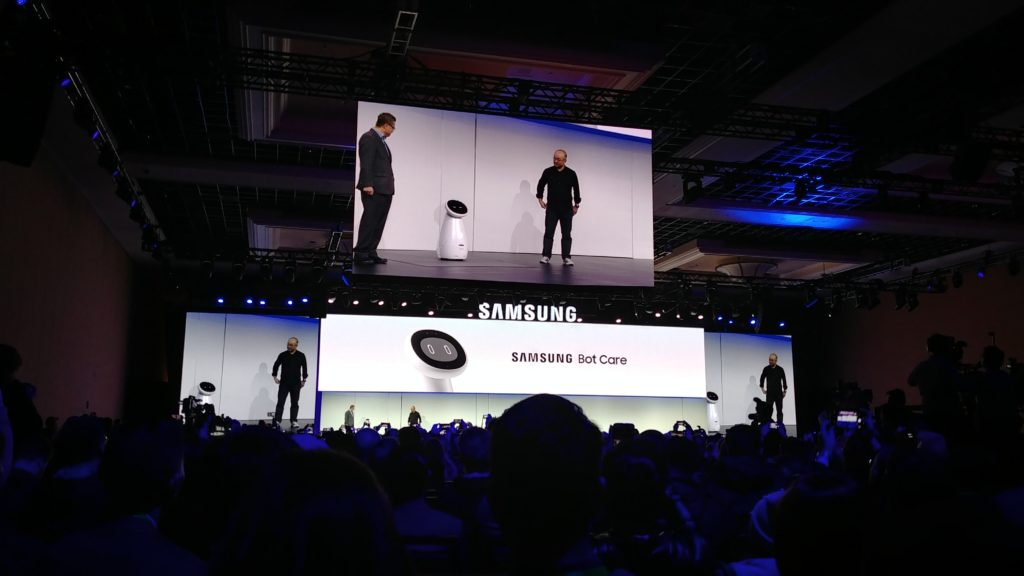 Samsung Press Conference CES 2019 Bot Care
