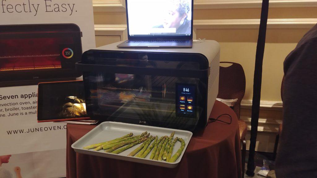 June Oven at CES Pepcom 2019