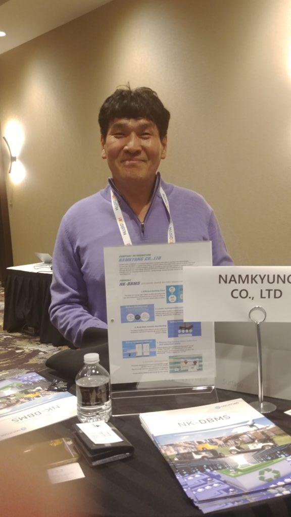 NamKyung MIK Made in Korea at CES 2019