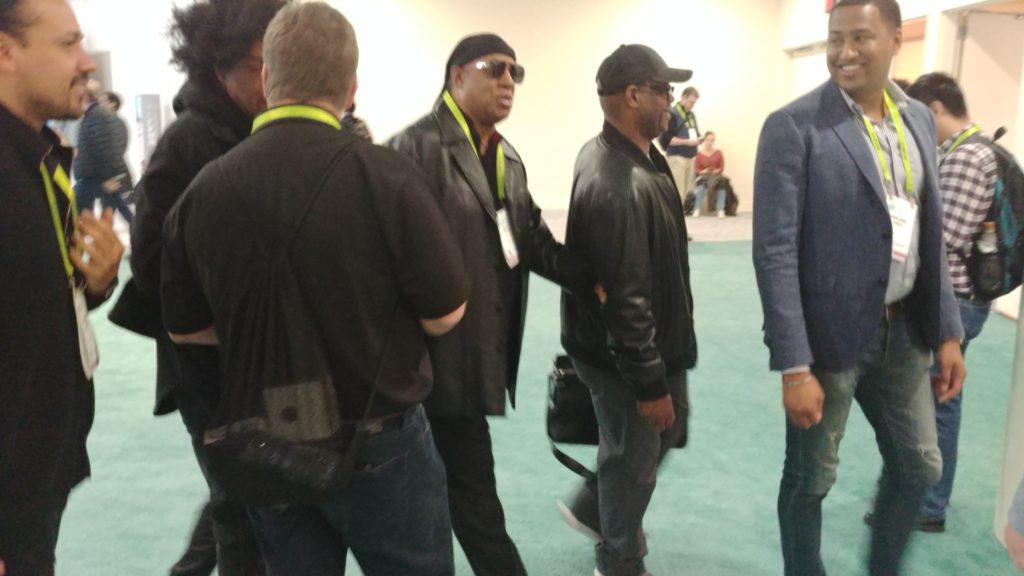 Stevie Wonder at CES 2019