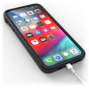 iPhone 11 Pro Max phone with Catalyst case